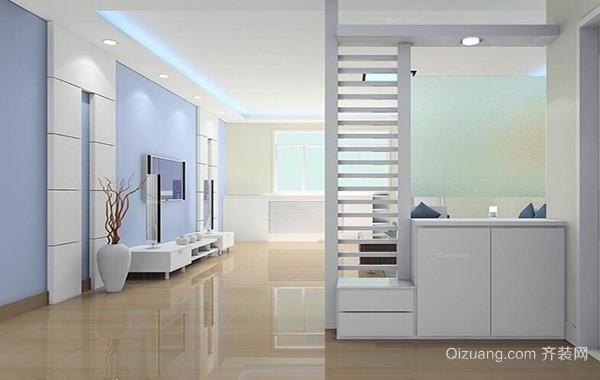 别墅型欧式风格客厅鞋柜装修效果图