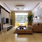 现代风格简约时尚客厅装修效果图