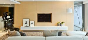 后现代风格简约客厅电视背景墙装修效果图