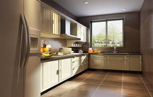 欧式风格别墅型精美厨房吊顶装修效果图