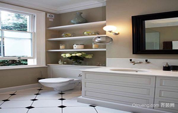 美式别墅经典时尚卫生间装修效果图大全