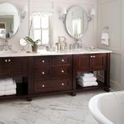 美式风格精致卫生间抽屉柜