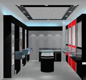 100平米精美的现代服装店室内装修效果图
