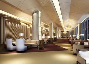 120平米精致的都市酒店室内装修效果图实例