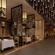2016时尚的现代餐厅室内设计装修效果图