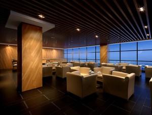 150平米精致大方的餐厅设计装修效果图