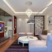 小户型欧式风格客厅设计装修效果图实例