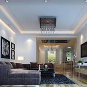 小户型精致客厅室内设计装修效果图欣赏