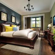 2016现代简约大户型卧室设计装修效果图