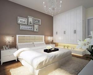 2016精美的大户型简欧卧室室内装修效果图