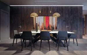 时尚创意简约餐厅装修效果图大全