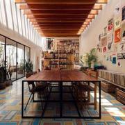优雅简单时尚现代风格餐厅装修效果图