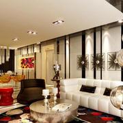 时尚创意客厅效果图