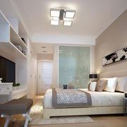 精致简约单身公寓卧室装修效果图