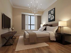 70平米简约时尚卧室装修效果图赏析