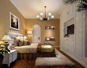 美式乡村经典时尚卧室装修效果图