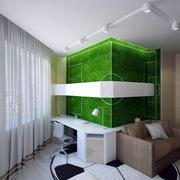 动感绿色儿童房