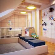 时尚创意儿童房背景墙设计