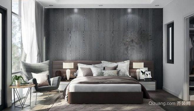 单身公寓现代简约时尚卧室装修效果图