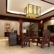 中式风格客厅吊灯设计