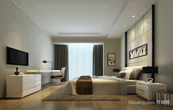 现代简约时尚卧室装修效果图大全