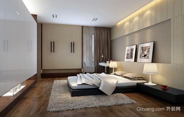 2016年全新款现代简约时尚卧室背景墙效果图