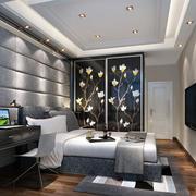 卧室精致背景墙