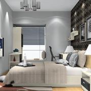 现代简约时尚卧室背景墙