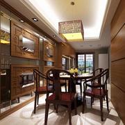 别墅型中式风格餐厅