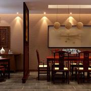 精致典雅餐厅设计