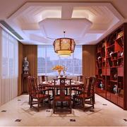 中式别墅豪华精致餐厅设计