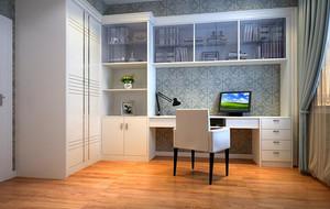 2016精致的现代简约书房室内设计装修效果图