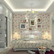 卧室田园风格背景墙