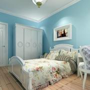 现代轻松时尚卧室效果图