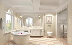 小户型精致的欧式卫生间装修效果图欣赏