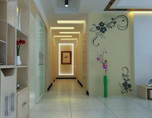 欧式别墅型走廊吊顶装修效果图欣赏