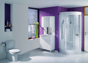 2016别墅型精美的欧式浴室装修效果图鉴赏
