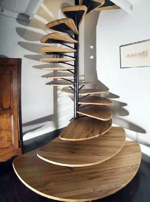 时尚创意精致旋转楼梯装修效果图大全