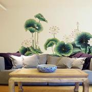 时尚创意卧室沙发背景墙装修效果图