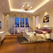 120平米精致的欧式风格卧室装修效果图