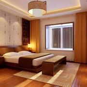 2016大户型精致的中式卧室室内装修效果图