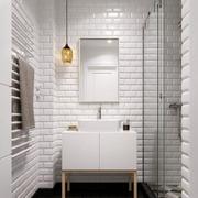 白色空间现代简约风格玄关装修效果图