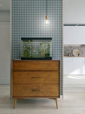 2016年全新定义的现代简约自然玄关客厅装修效果图赏析