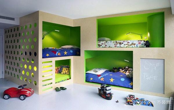 2016年全新款现代时尚简约儿童房装修效果图