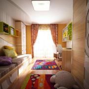 北欧简约时尚儿童房装修