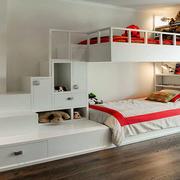 儿童房创意双层床效果图