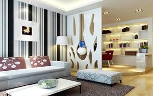 2016欧式大户型客厅室内隔断设计装修效果图