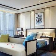 简约时尚中式卧室