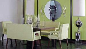 三居室后现代风格简约时尚餐厅装修效果图
