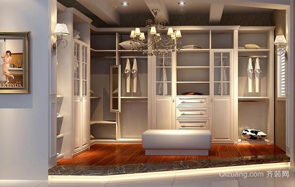 90平米大户型欧式衣帽间室内设计装修效果图